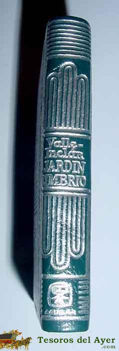 Libros literatura colecci n for Jardin umbrio valle inclan