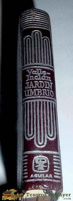 Libros literatura crisolin num for Jardin umbrio valle inclan