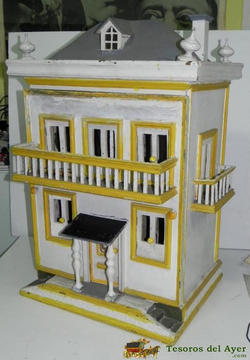 Mu ecas antiguas casas de mu cas y - Accesorios para casa de munecas ...