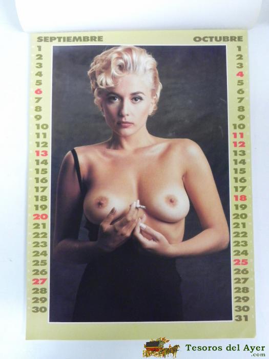 Calendario Mujeres Desnudas.Tesorosdelayer Com Papel Antiguo Calendarios