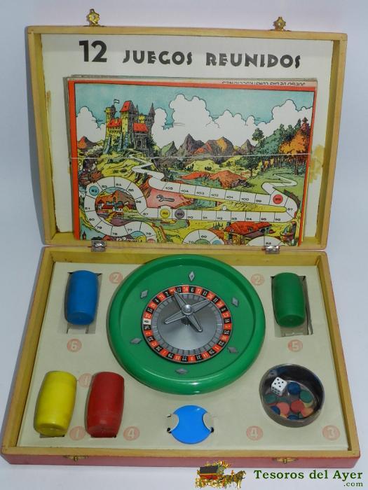 Tesorosdelayer Com Juguetes Antiguos Juegos Juegos Reunidos